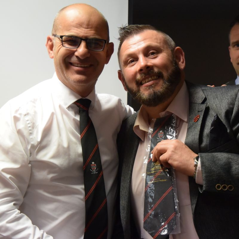 Nick Bishop made Manor Park Life Member at annual Awards Evening