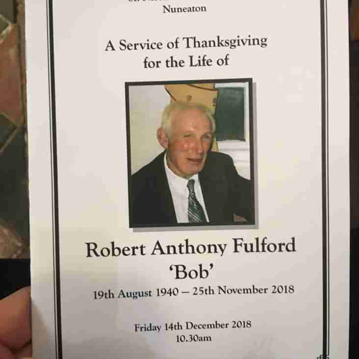 Perfect send-off for Bob Fulford