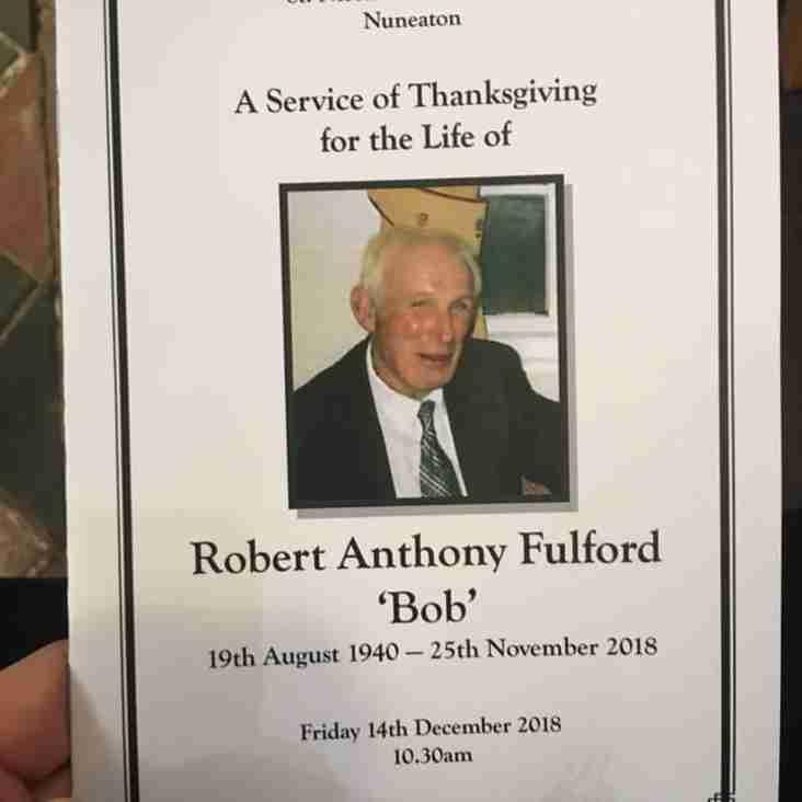 Perfect send-off for Bob Fulford