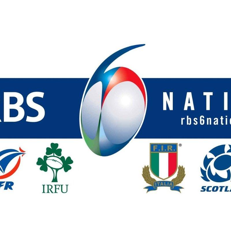 6 Nations - Live at Farnham Royal Rugby Club
