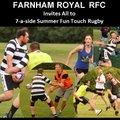 Farnham Royal RUFC vs. Summer Fun Touch Rugby