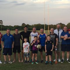 FRRUFC Touch Rugby - Thurs 6 July 2017