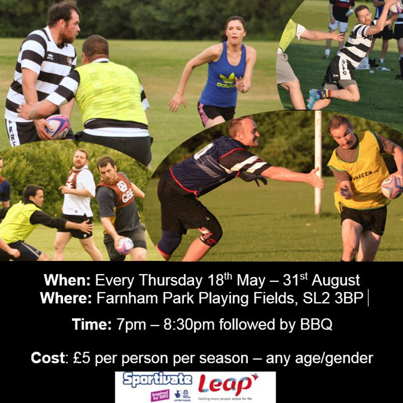 Farnham Royal RFC Summer Fun Touch Rugby 2017