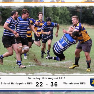 Amber and Blues Defeat Harlequins!!