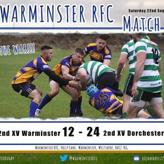 Warminster 2nds vs Dorchester 2nds
