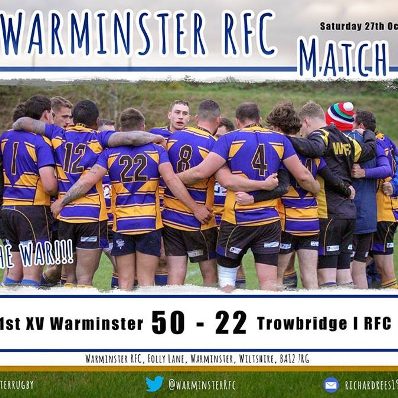 McIntyre hatrick guides Warminster to victory