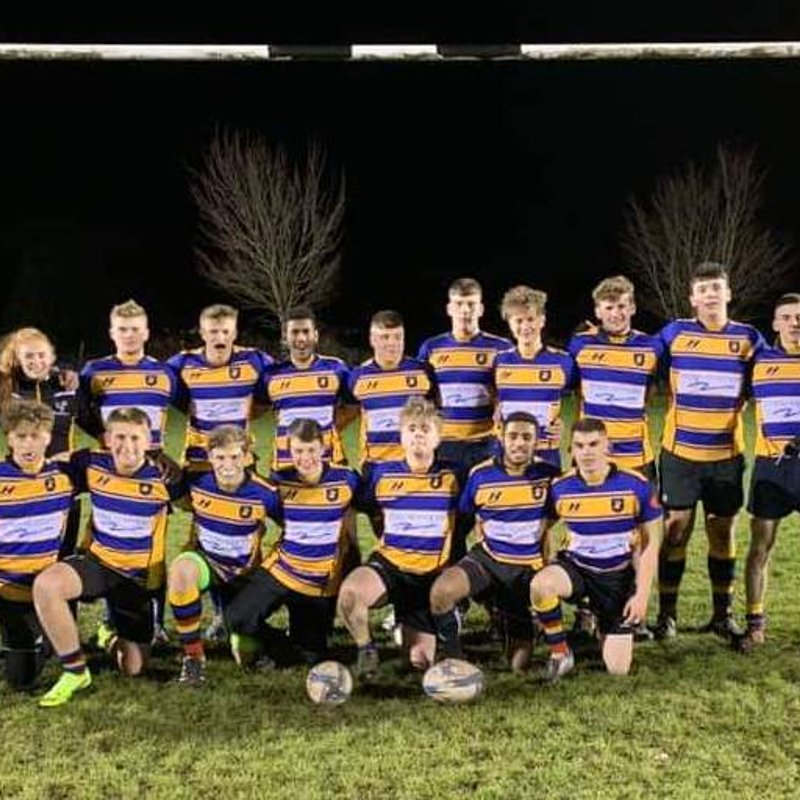 Warminster Colts narrowly beaten on first outing
