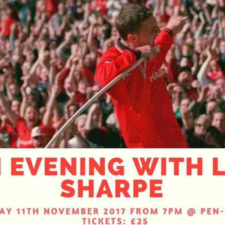 An evening with Lee Sharpe