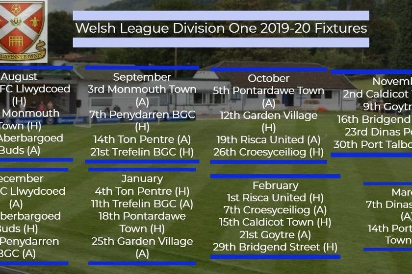 Fixtures Released