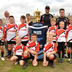 U8s with World Cup