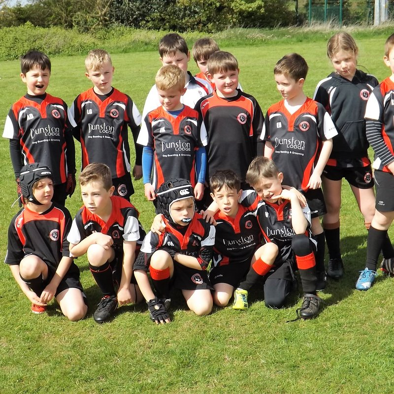 U8's wrap up the season at Mellish