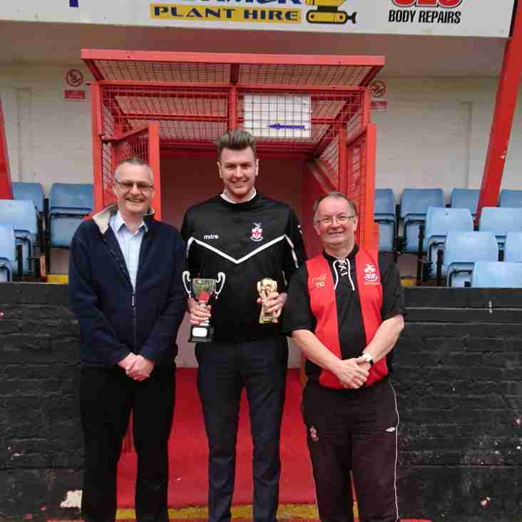 2016/17 Supporters Player Of The Season Award