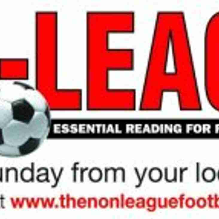 The Weekly Non League Column