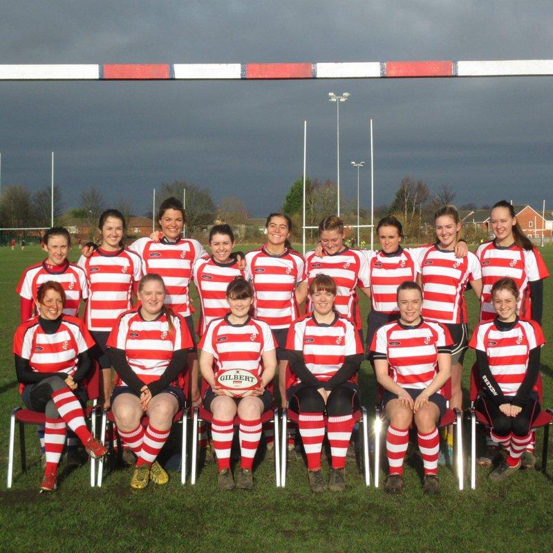 Sefton Ladies beat Sunderland Ladies 40 - 7