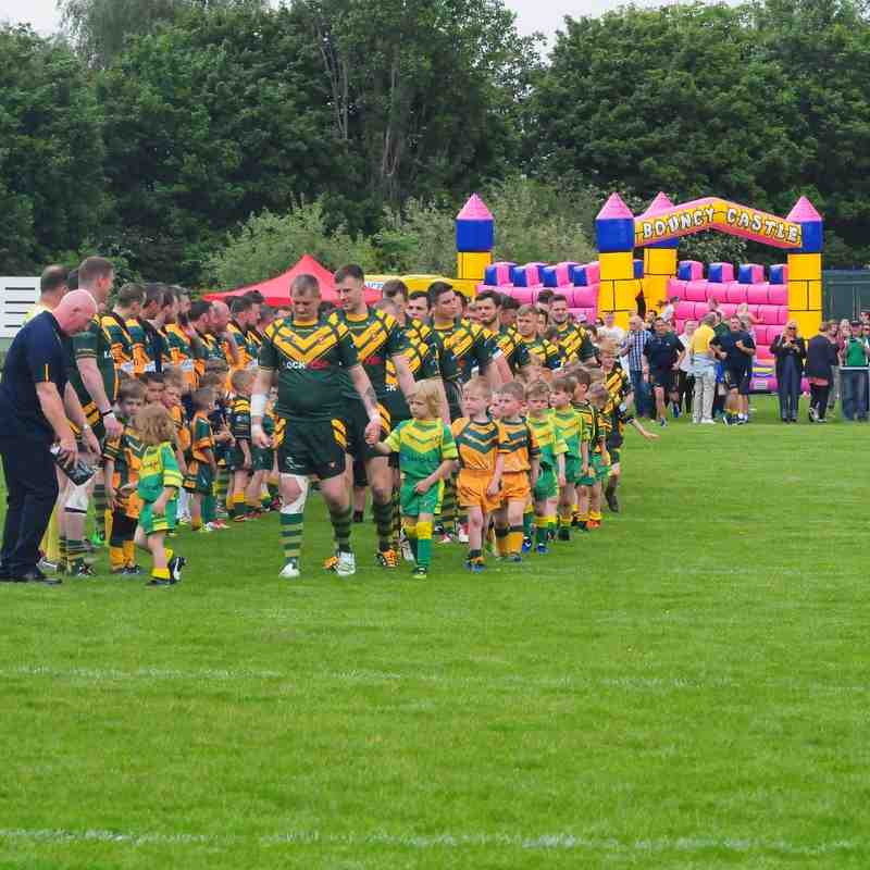 Woolston Rovers Charity Day - Past v Present - 28/05/16