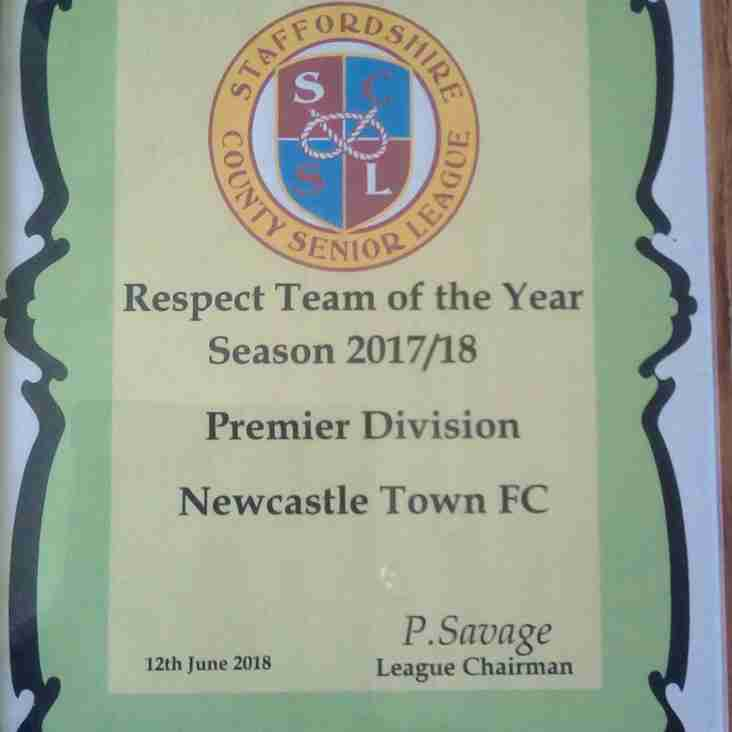 Town win Respect Award