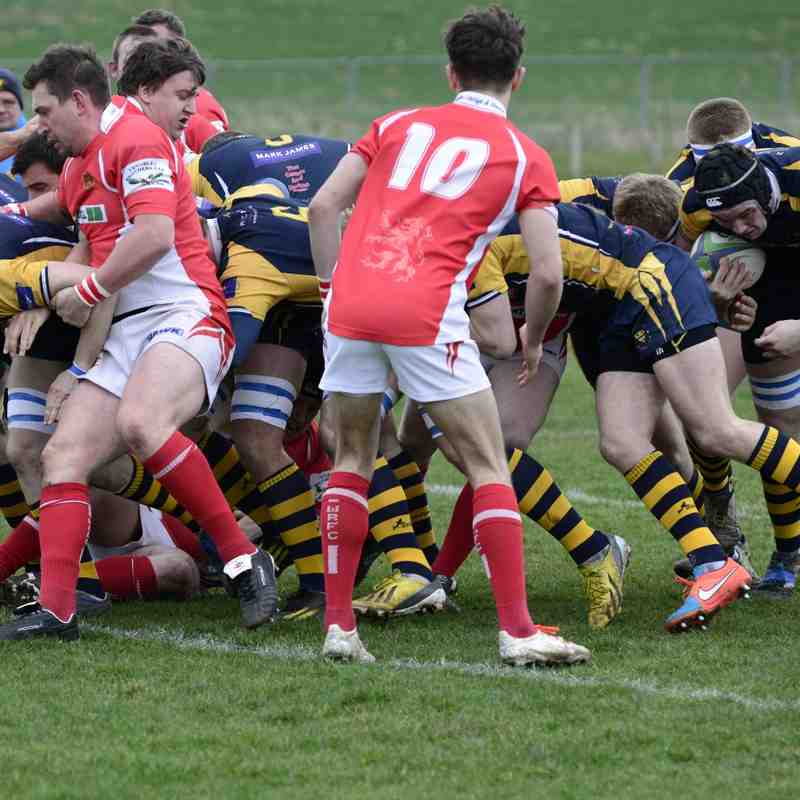 Wanderers v Whitchurch March 2015