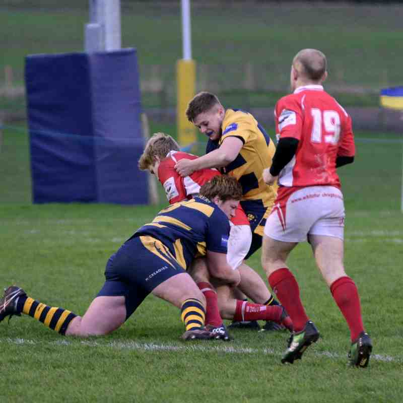 Wanderers v Whitchurch December 2015