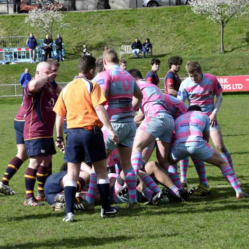 Wanderers v Bournville April 2016