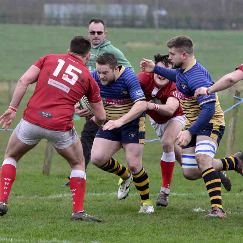 Wanderers 1st XV v Whitchurch March 2017