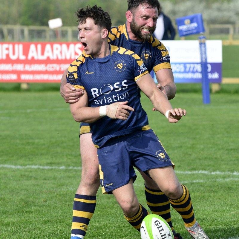 Worcester RFC 1st XV v Bromsgrove April 2018