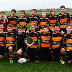 Our U14s win the Suffolk Plate