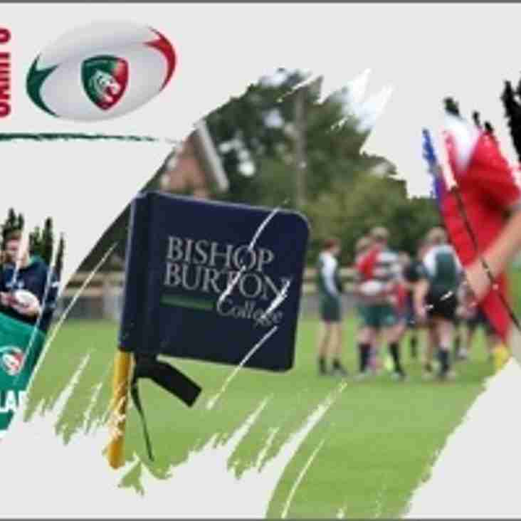 Leicester Tigers Residential Rugby Camp - 14-19 August 2016