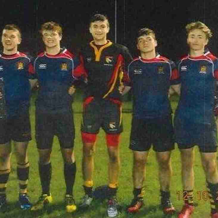 Five of our U17s represent Suffolk ...and Norfolk