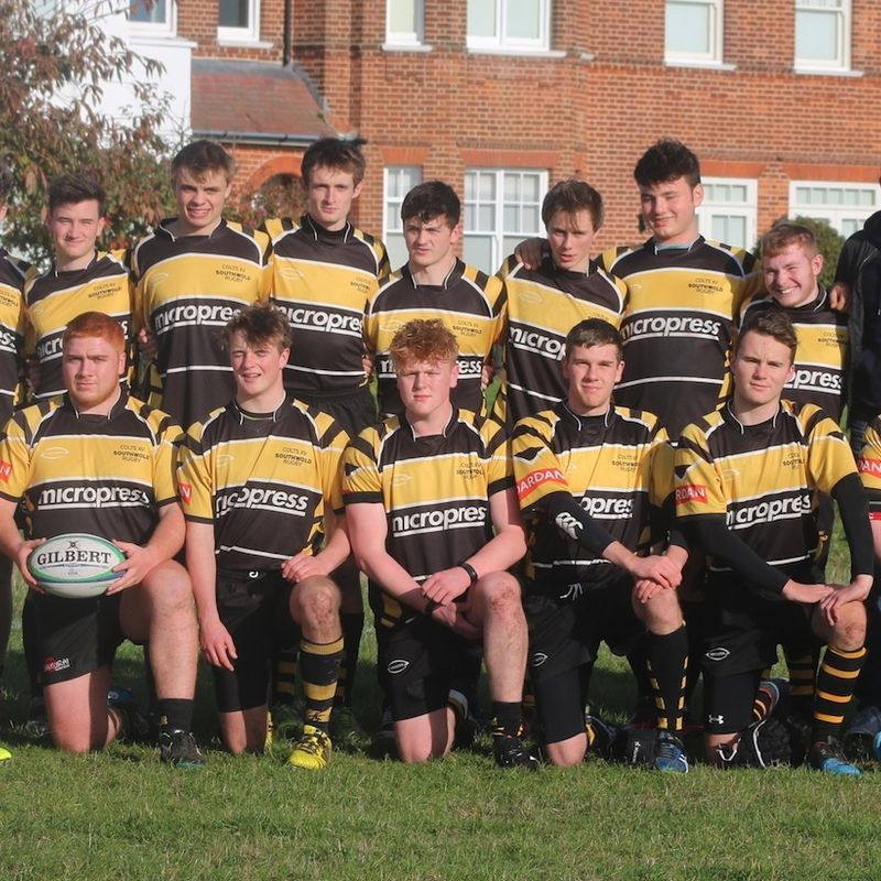 Colts (U18s) lose to Hadleigh 7 - 46