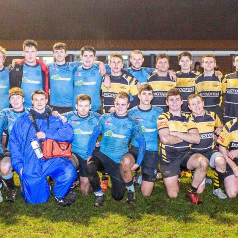 Under 21 's win first festive fixture - Report by Paul Mullen
