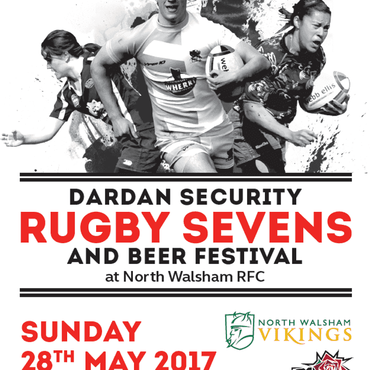 Dardan Sevens on 28th May