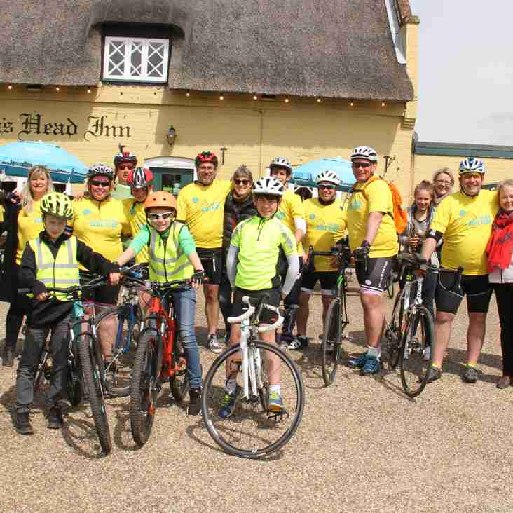 The Big Bike Ride raised over £41,000 in memory of Kate Woodruff