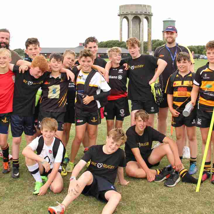 Our Summer Rugby Camp was a huge success
