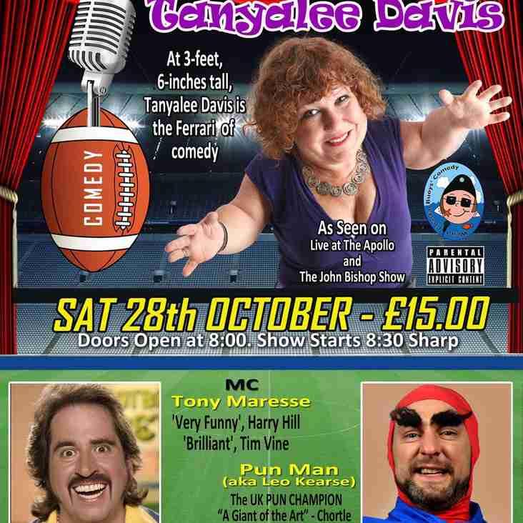 Club Comedy Night - Saturday 28th October
