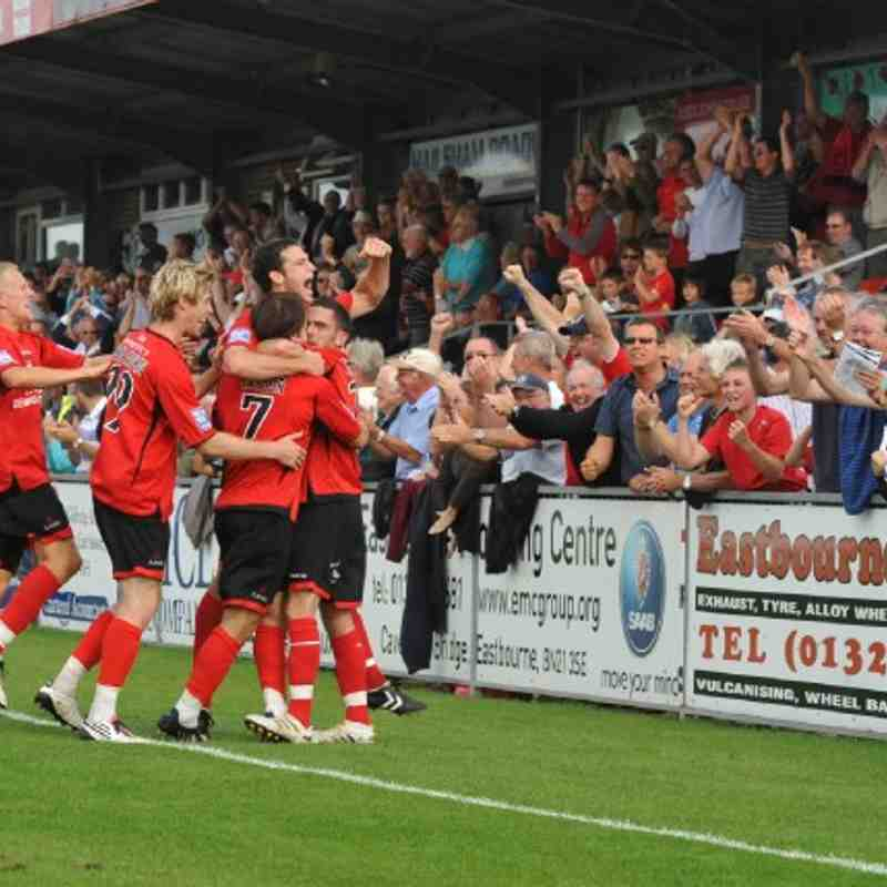 Home v Darlington 2010 2011