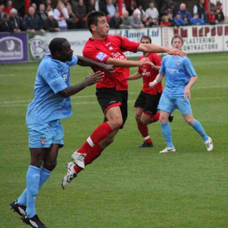 Home v York City 2010 2011