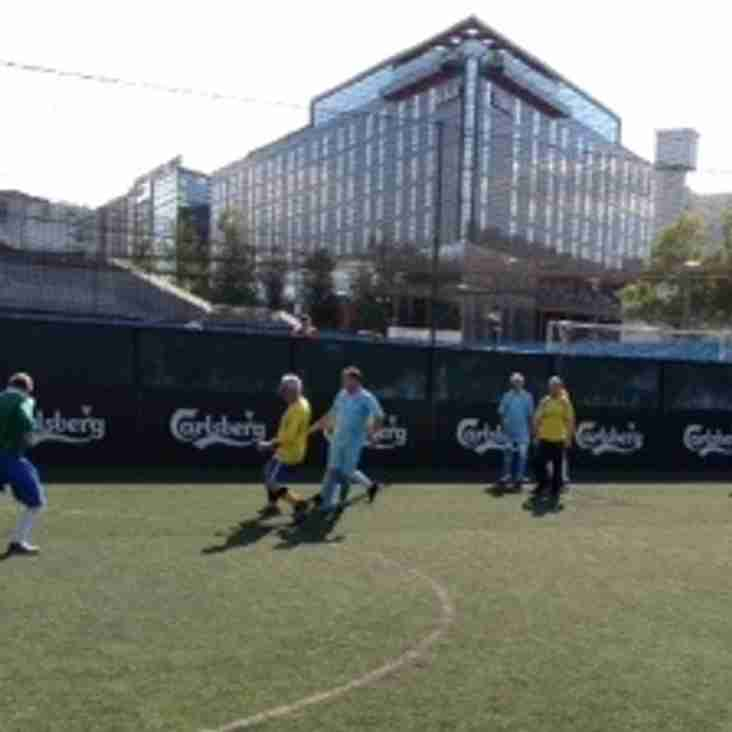Walking Football Joins The Club