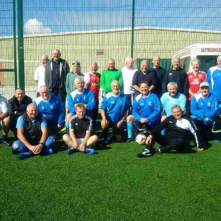 Walking Football Continues To Grow At The Sports