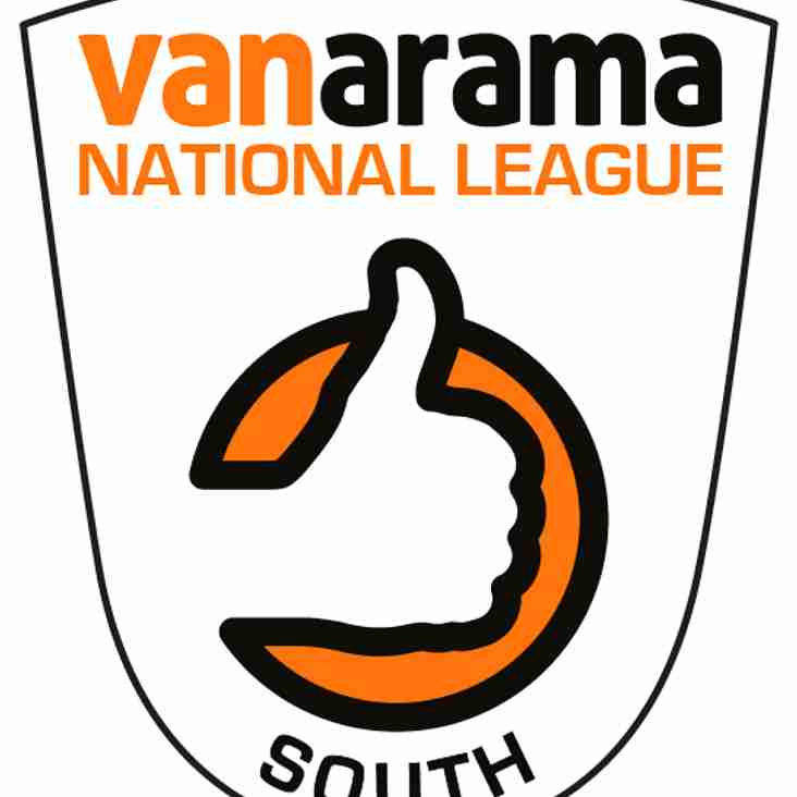 Vanarama National League South Fixtures Are Out !