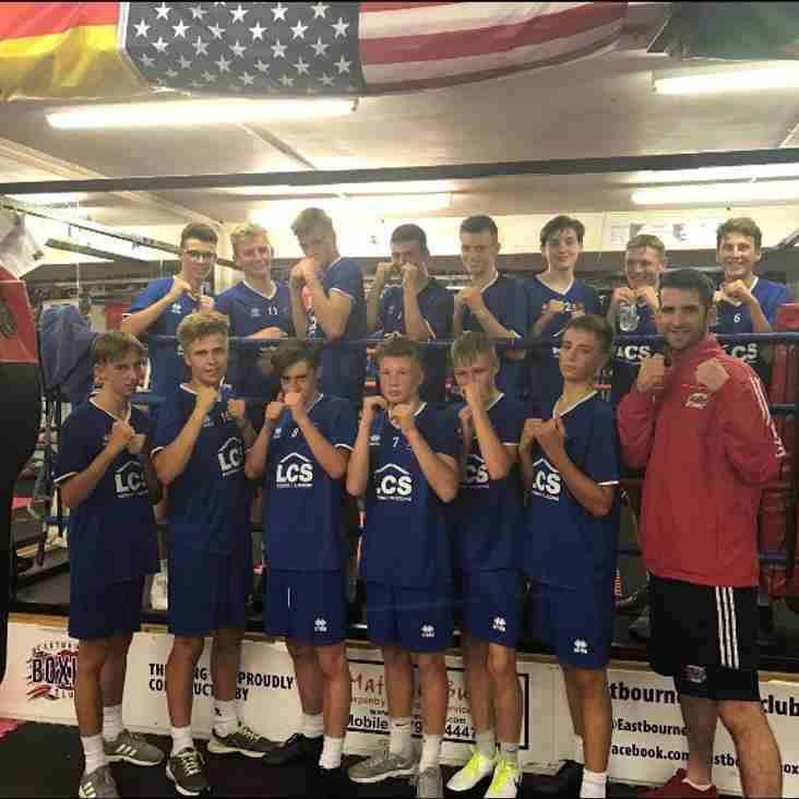 U16 Pre Season Boxing Session