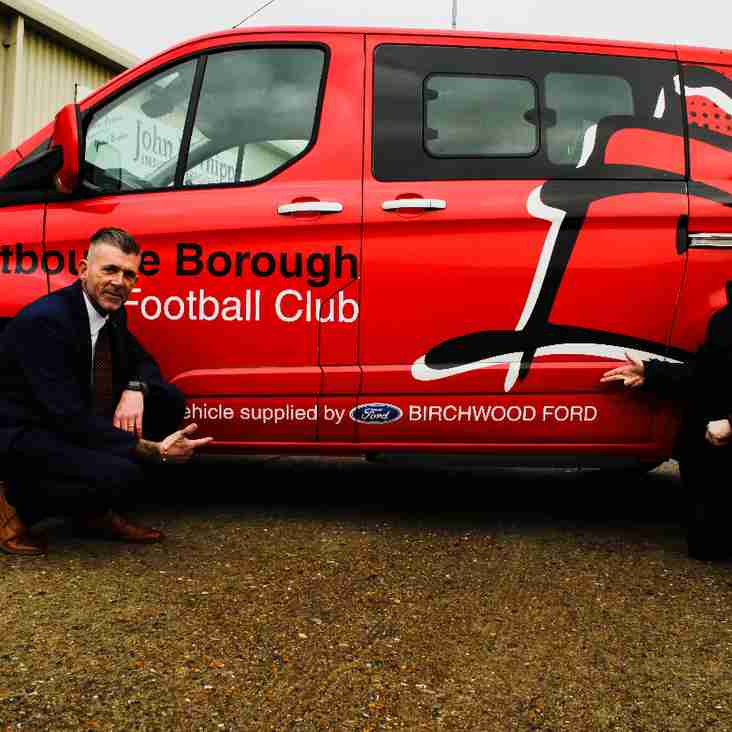Birchwood Ford Working In Partnership with EBFC and New Commercial Manager