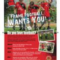 Frame Football Wants You
