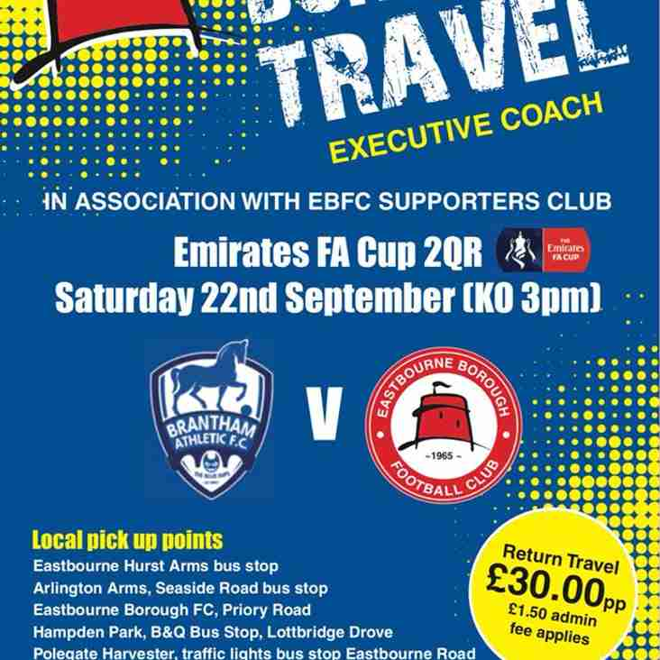 Supporters Coach Travel to Brantham For FA Cup Fixture