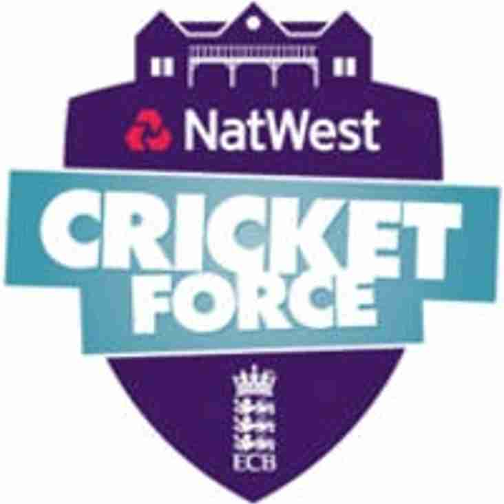 Cricket Force Day starts at 10am on Sunday Morning!