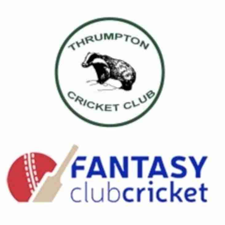 Play Badger Fantasy Club Cricket!