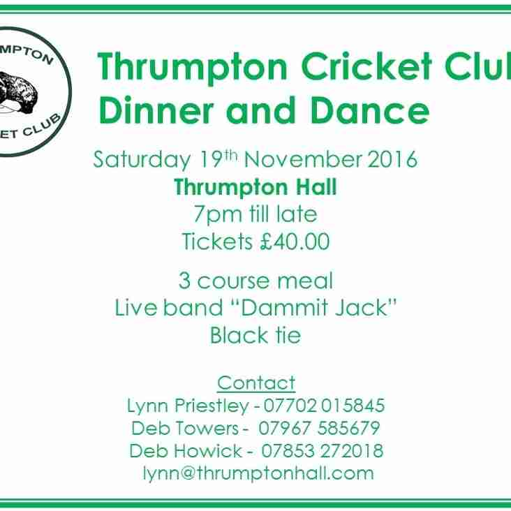 Final Call for Dinner Dance Tickets!