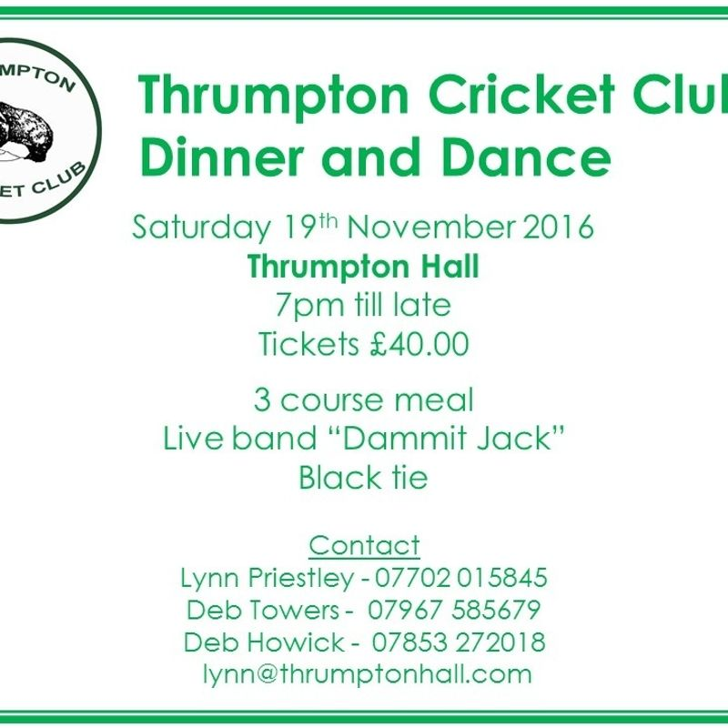 Get Your Dinner & Dance Tickets NOW!