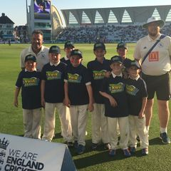 Junior Badgers at the 2016 Trent Bridge ODI