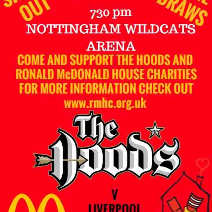Nottingham Hoods Basketball - Saturday 18 February
