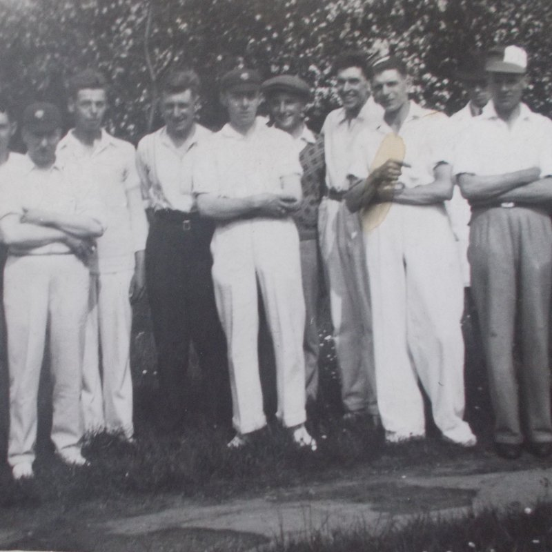 From the Archives - Thrumpton Team from 1930s